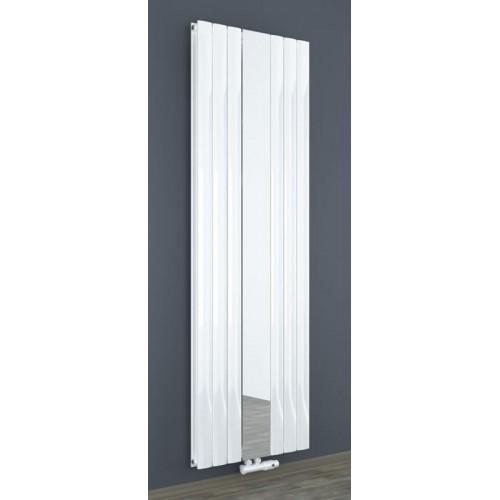 Design Spiegel Doppellagig Badheizkörper Weiß Mittelanschluss 1800x610x63