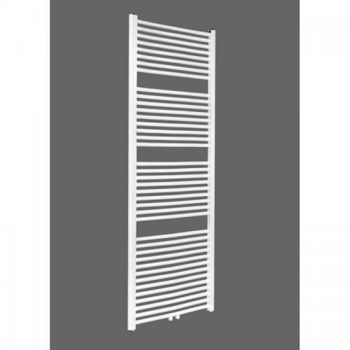 Badheizkörper 1800x600 mm Handtuchheizkörper Weiß gerade Mittelanschluss