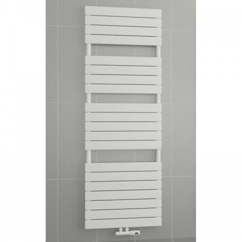 1800 x 500 mm Flach Weiß Badheizkörper Handtuchwärmer