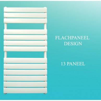Badheizkörper Handtuchheizkörper 1200x600 Weiß Flachpaneel