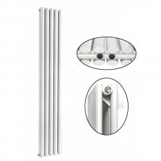 1800 x 350 mm Doppellagig Mittelanschluss Weiß Paneelheizkörper NEU Ellipse Design