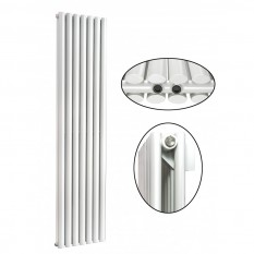 1800 x 490 mm Doppellagig Mittelanschluss Weiß Paneelheizkörper NEU Ellipse Design