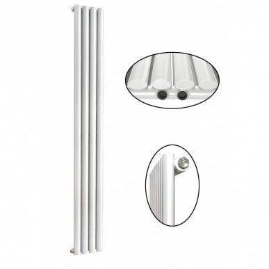 1800 x 280 mm Einlagig Seitenanschluss Paneelheizkörper NEU Ellipse Design