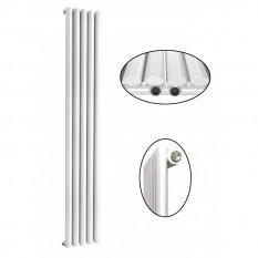 1800 x 350 mm Einlagig Mittelanschluss Paneelheizkörper NEU Ellipse Design
