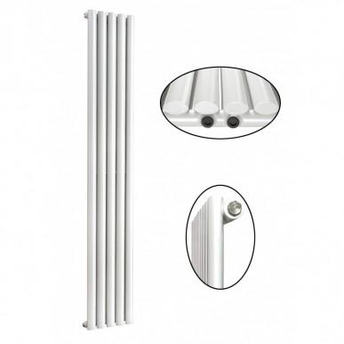 1800 x 350 mm Einlagig Seitenanschluss Paneelheizkörper NEU Ellipse Design