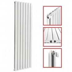 1800 x 532 mm Doppellagig Seitenlanschluss Flach Weiß