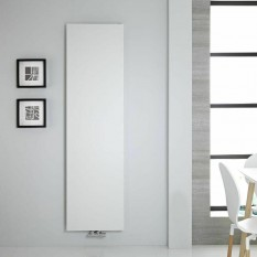 Design Flach Paneelheizkörper Mittelanschluss Slim Heizwand 1770x500 Weiss