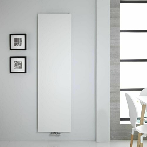 Design Flach Paneelheizkörper Mittelanschluss Heizwand 1770x500 Weiss