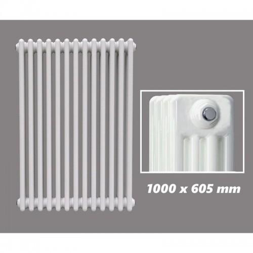 1000 X 605 mm Design Röhrenheizkörper Weiss 4 Lagig
