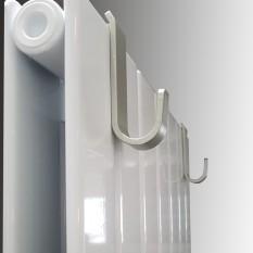Handtuchhaken für Design Flach Paneelheizkörper EVEREST Handtuchhalter Heizwand x 2